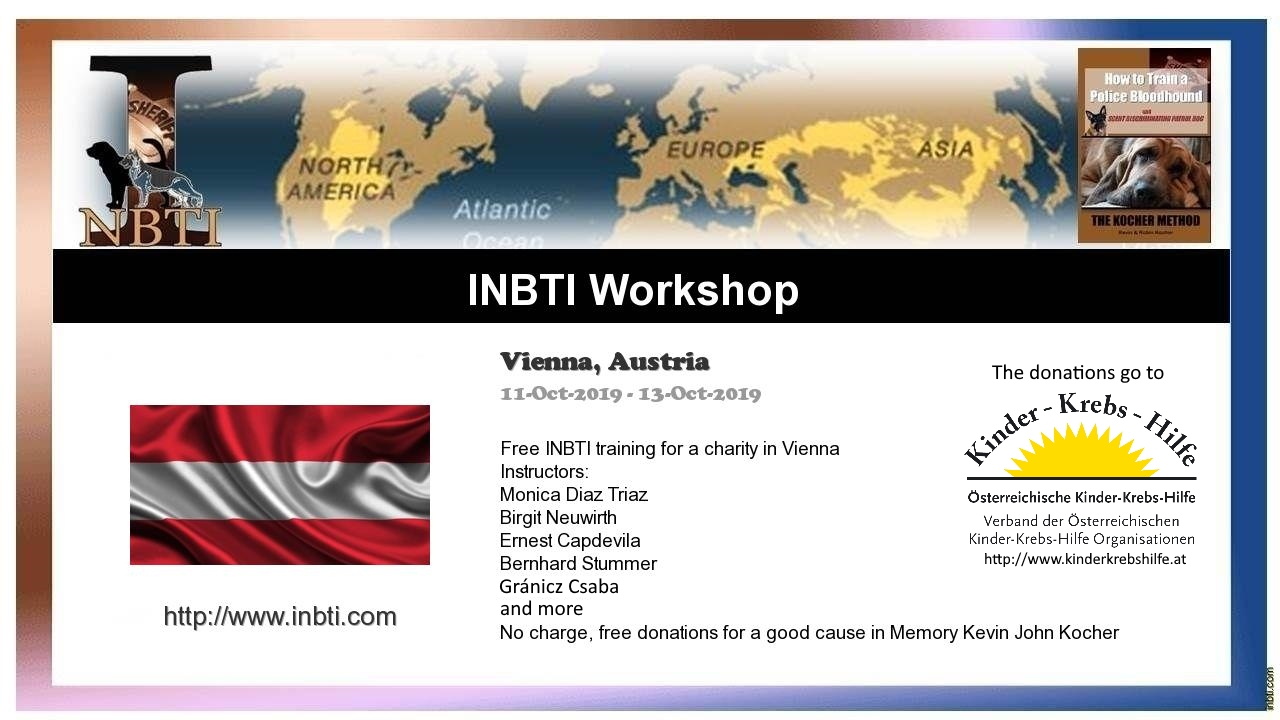 INBTI Carity Training in Vienna